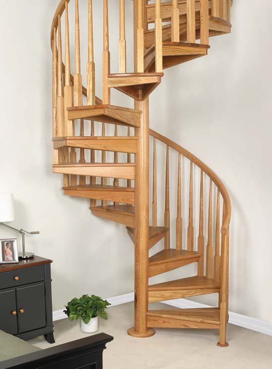 Genial Galvanized Spiral Stair Kits